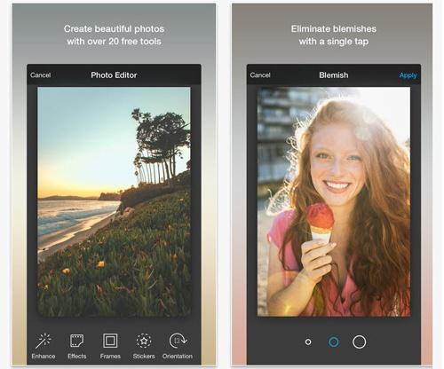 Những ứng dụng chụp ảnh 'tự sướng' độc đáo cho iOS và Android - ảnh 3