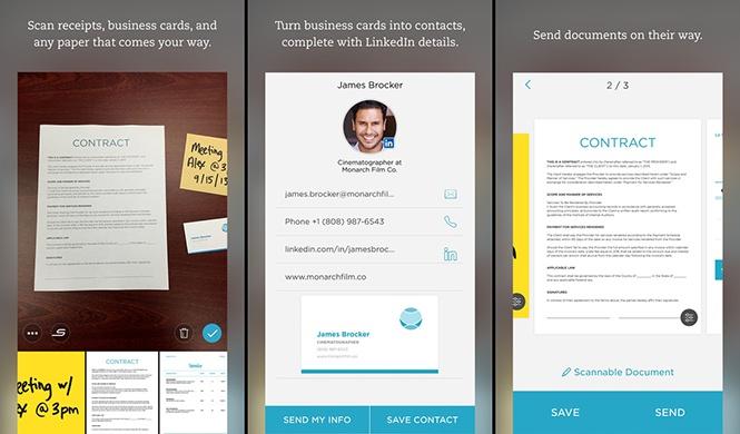 Những ứng dụng giúp biến smartphone thành máy scan - ảnh 2