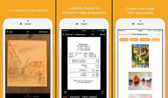 Những ứng dụng giúp biến smartphone thành máy scan - ảnh 4