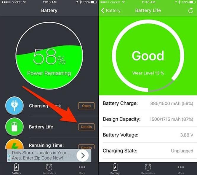 Cách kiểm tra 'sức khỏe' pin iPhone và Macbook - ảnh 3