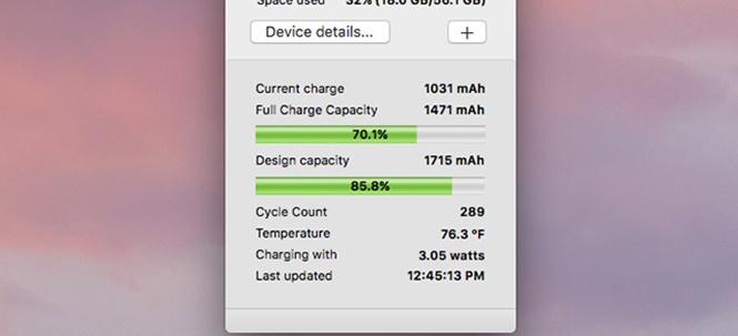 Cách kiểm tra 'sức khỏe' pin iPhone và Macbook - ảnh 4