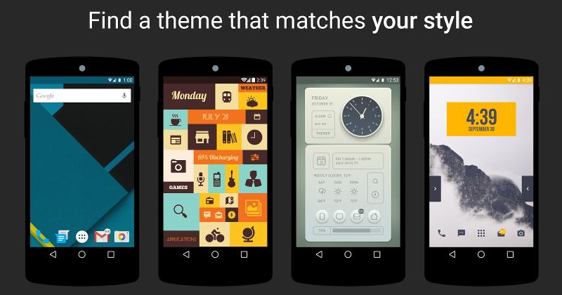 Những ứng dụng Launcher tiêu biểu cho smartphone Android - ảnh 1
