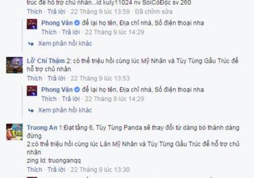 tung clip nhá hàng Đồng Hành Gấu Trúc